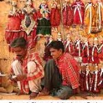 Puppet shop at Jaisalmer Fort