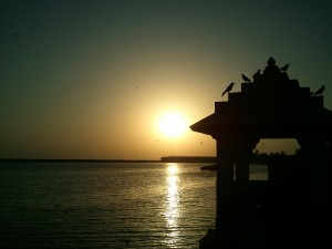 Gita_Mandir_on_Triveni_Ghat_near_Somnath_Temple_Gujrat
