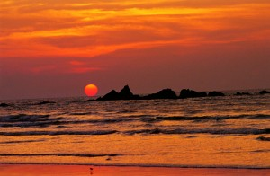 Muzhappilangad_Beach_Sunset