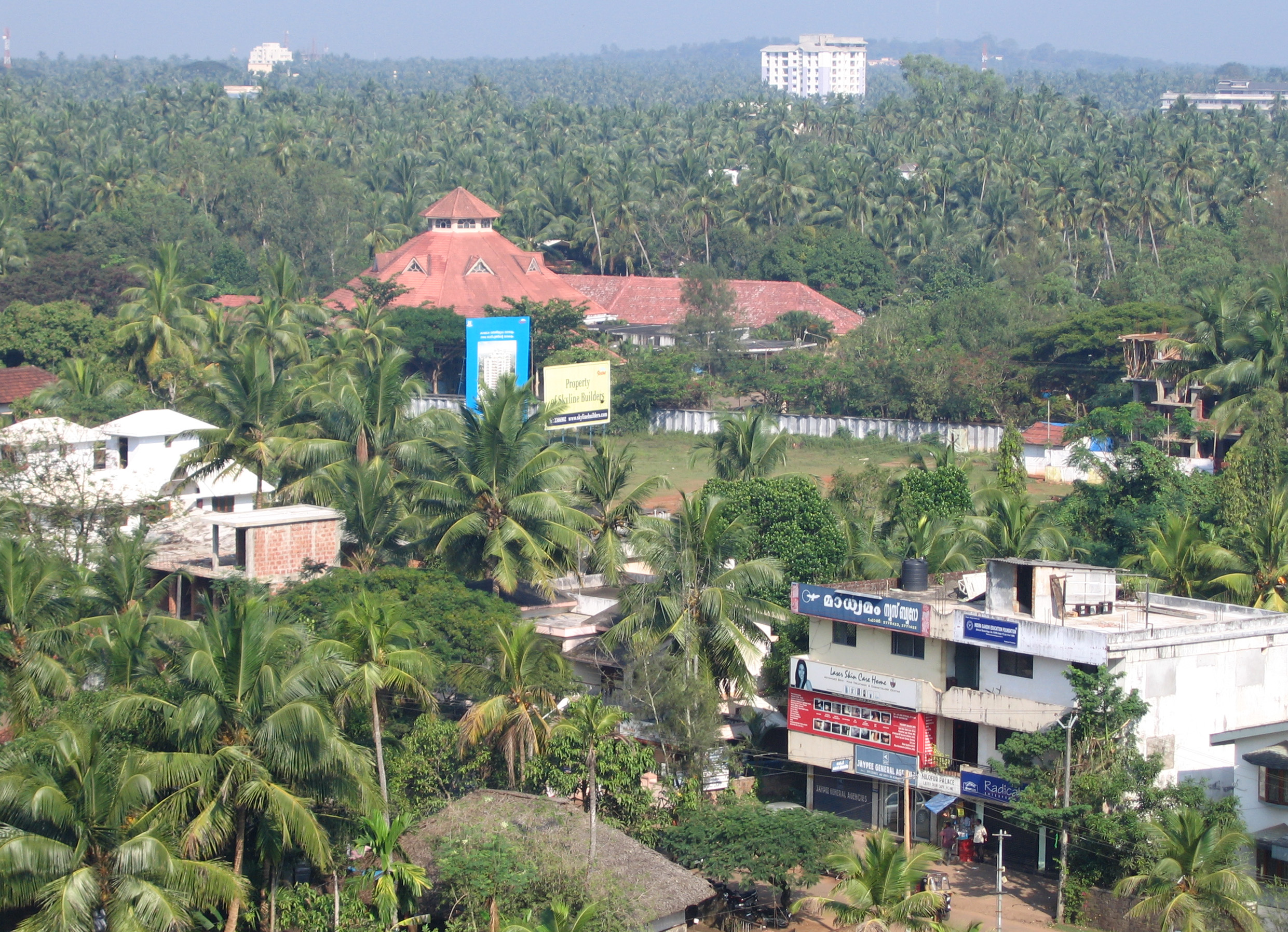 Kozhikode_City_Skyline_-_Planetorium_seen_at_a_distance