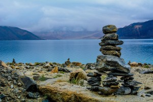 Pangong_Tso_at_Sunrise