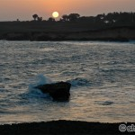 Nagoa Beach Sun Set