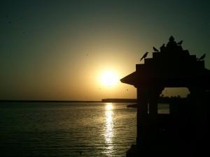 Gita_Mandir_on_Triveni_Ghat_near_Somnath_Temple_Gujrat
