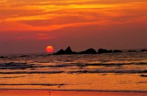 Muzhappilangad_Beach_Sunset