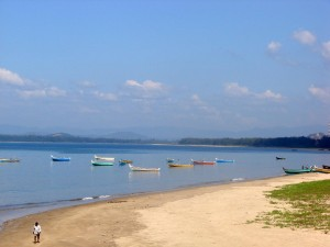 Rabindranath Tagore's favorite beach at Karwar, Karnataka, India