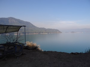 Gobind_sagar_lake_ambuj