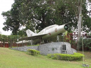 The_jet_fighter_at_Cole_Park