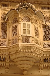 Carved_balcony,_Mehrangarh_Fort