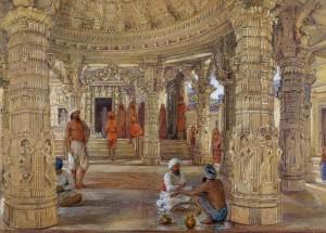 Interior_of_the_Neminath_Temple,_Dilwara,_Mount_Abu_by_William_Carpenter