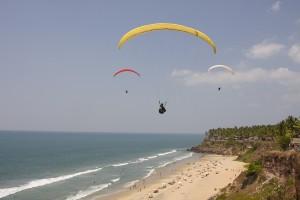 Varkala_Beach_Paragliding