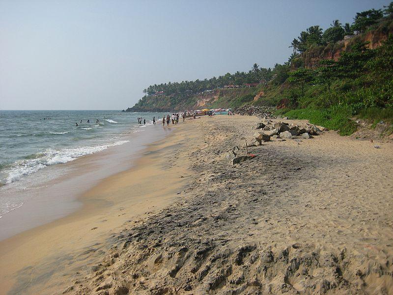 Varkala_beach_Kerala